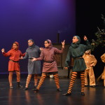 The Gingerbread Witch's hobgoblins from left to right: Holly Durham, Annie Wood, Lia Vicens, Grace Gent