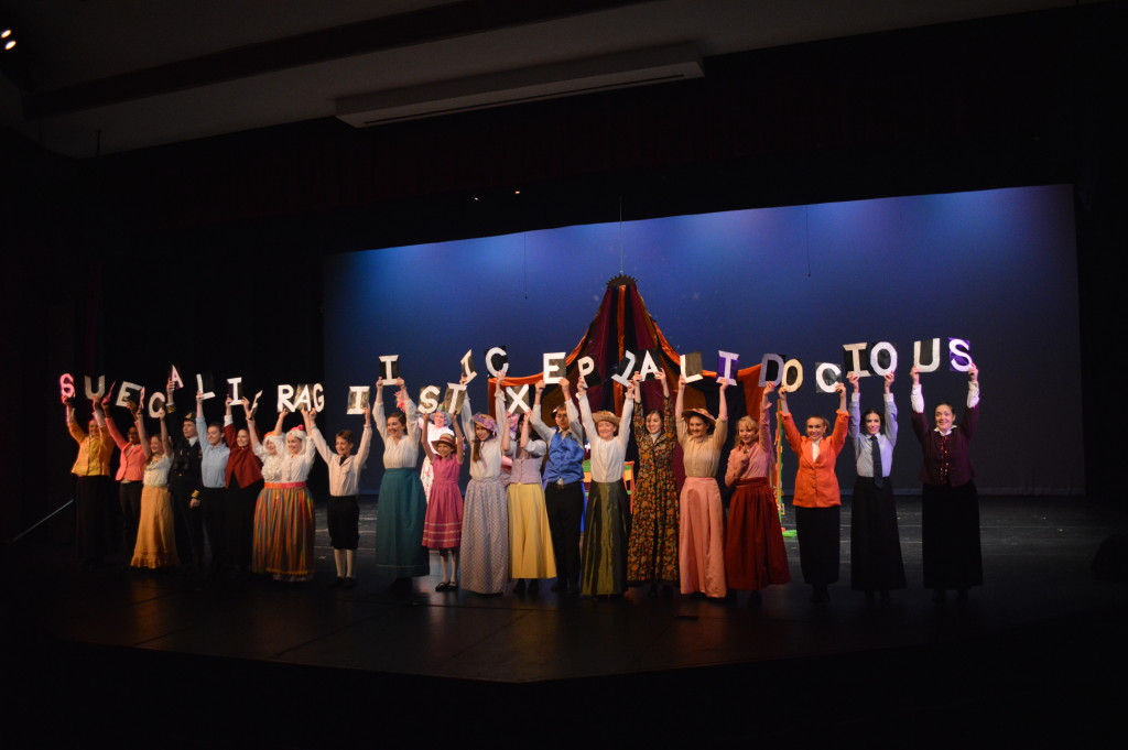 Mary Poppins is playing now through July 24. Photo by Larry McClemons.