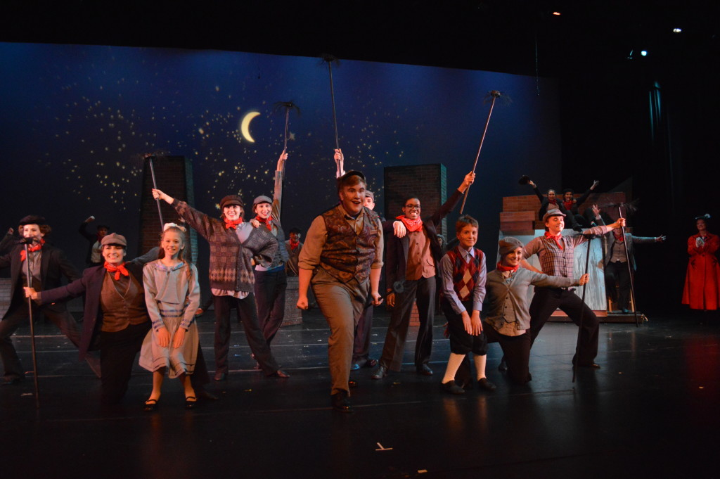 """""""Step in time"""" with Mary Poppins, presented by Encore Stage & Studio. Photo by Larry McClemons."""