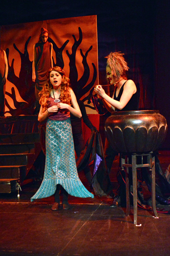 Katelyn Sparks and Maddie Ashton, The Little Mermaid 2014