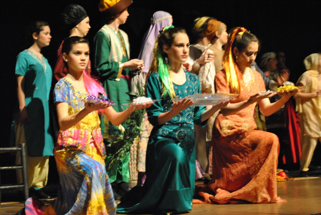 "Encore Stage & Studio's production ""The Magical Lamp of Aladdin"" in 2012"