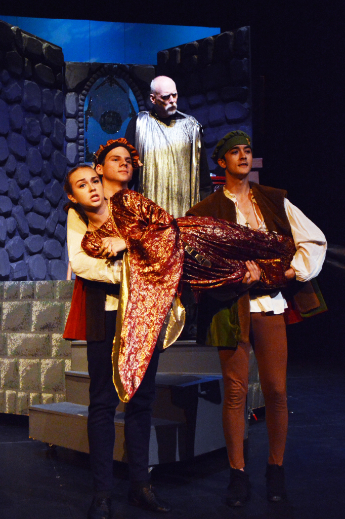 Meghan Mack, Perry Kaufman and Kerry Hackes, Once Upon a Mattress 2014